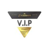 Vip member badge Stock Images