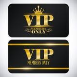 Vip member Stock Image