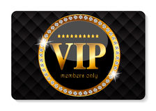 VIP Members Card Vector Illustration Stock Photo