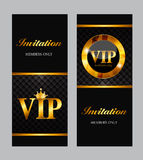 VIP Members Card Vector Illustration Royalty Free Stock Images