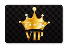VIP Members Card Vector Illustration Stock Image