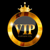 VIP Members Card Vector Illustration Stock Photography
