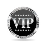 VIP Members Label Vector Illustration Stock Images