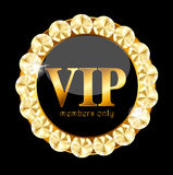 VIP Members Label Vector Illustration Royalty Free Stock Photos
