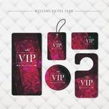 VIP members only premium platinum elegant cards Stock Photography