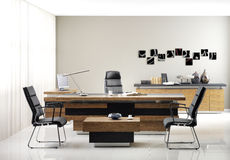 VIP office furniture. In the interior royalty free stock images