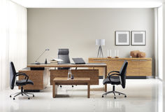 VIP office furniture. In the interior Royalty Free Stock Photography
