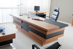 VIP office furniture. In the interior Stock Image