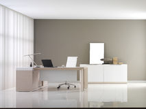 VIP office furniture. In the interior royalty free stock image
