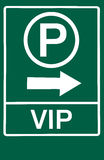 VIP park symbol Stock Photography