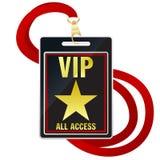 VIP Pas Stock Foto