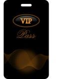 VIP pas Stock Afbeelding