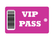 VIP_Pass Royalty Free Stock Images