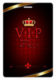 VIP Pass Royalty Free Stock Photos