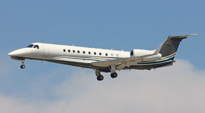 Vip plane landing Stock Photo