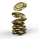 Vip-Pokerchip vektor abbildung