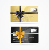 Vip Present Plastic Cards Set. Vector Royalty Free Stock Photography