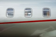 VIP Private Jet Stock Photography