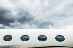 VIP Private Jet Royalty Free Stock Photography
