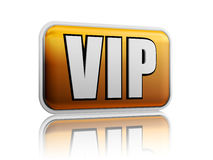 VIP with reflection Stock Image