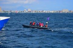 VIP Rib Volvo Ocean Race Alicante 2017 Photos libres de droits