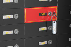 Vip safe deposit boxes Stock Photography