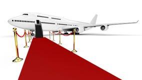 VIP samolot Obrazy Royalty Free