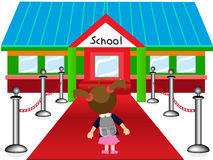 VIP School kid Royalty Free Stock Photos