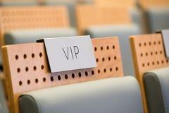 VIP seat at a hall Royalty Free Stock Photos