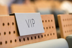 VIP seat at a hall Royalty Free Stock Images