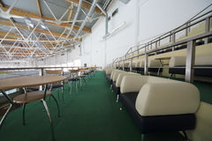 VIP seats for spectators in sports complex Krylatsky Royalty Free Stock Photo