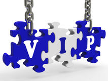 VIP Shows Celebrity Millionaire Or Important Person Stock Image