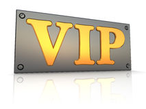 Vip sign Stock Photos