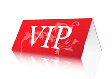 VIP Sign. Vector illustration of VIP reservation sign Royalty Free Stock Image