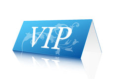 VIP Sign. Vector illustration of VIP reservation sign Royalty Free Stock Images