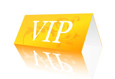 VIP sign. Vector illustration of VIP reservation sign Royalty Free Stock Photography