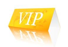 VIP sign. Vector illustration of VIP reservation sign royalty free illustration