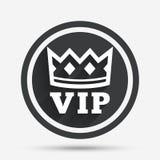 Vip sign icon. Membership symbol. Stock Photo