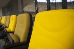 Vip-stadionen placerar Fotografering för Bildbyråer