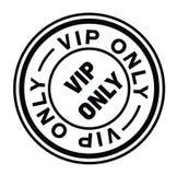Vip only stamp on white Vector Illustration