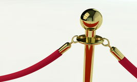 VIP stanchion detail Stock Photo