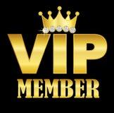 VIP symbol royalty ilustracja
