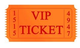 Vip ticket Stock Photo