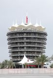 The VIP tower (Sakhir tower) at BIC Royalty Free Stock Images