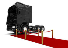 VIP Truck Royalty Free Stock Photo