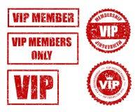 VIP verbinding stock illustratie