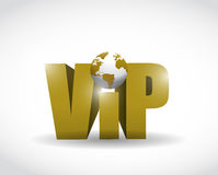 Vip world illustration design Stock Photo