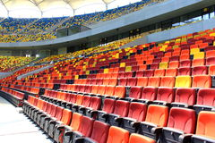 Vip-zon på nationell arenastadion Royaltyfri Fotografi