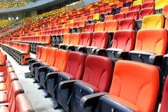 Vip-zon på nationell arenastadion Royaltyfri Foto