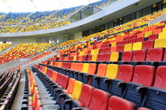 Vip-zon på nationell arenastadion Fotografering för Bildbyråer